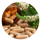 Dietary supplement as hard capsules